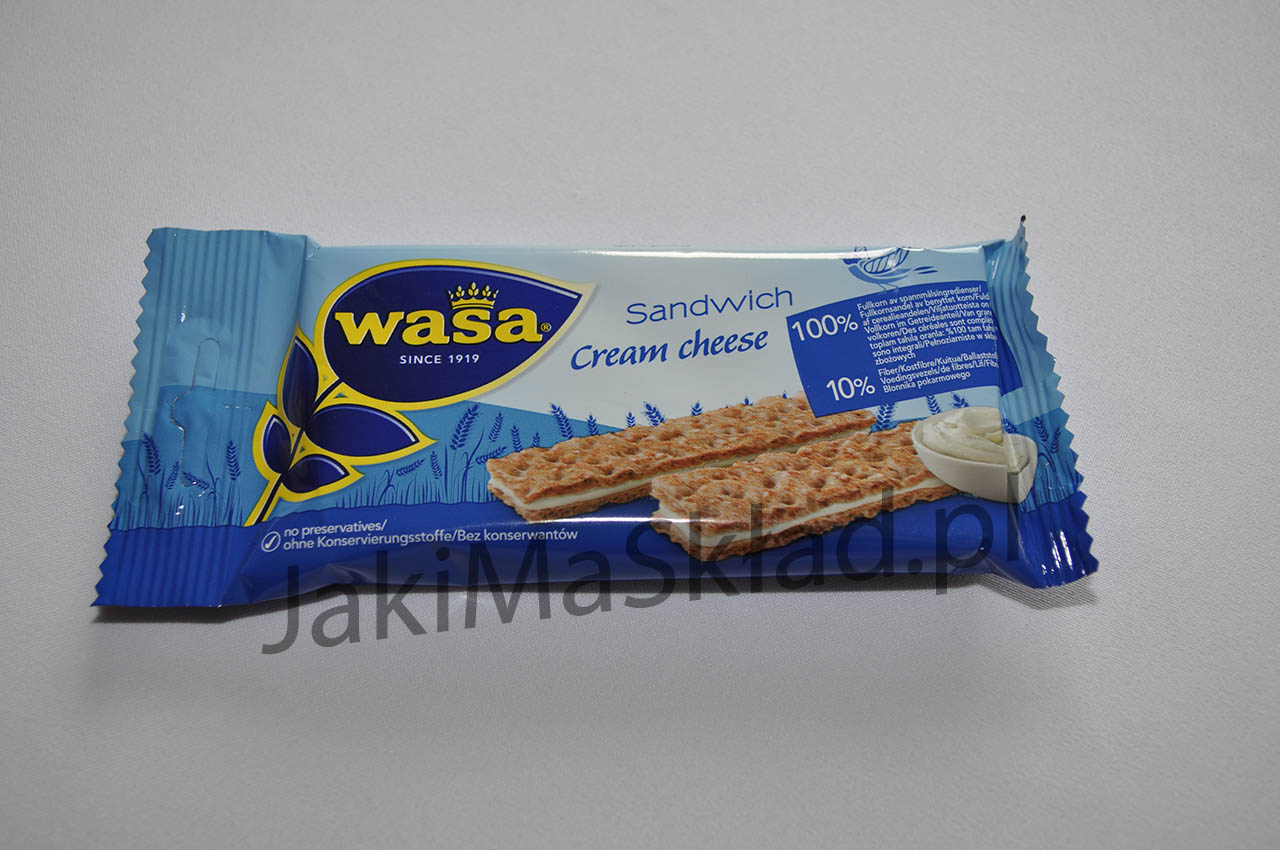 Wasa Sandwich Cream cheese