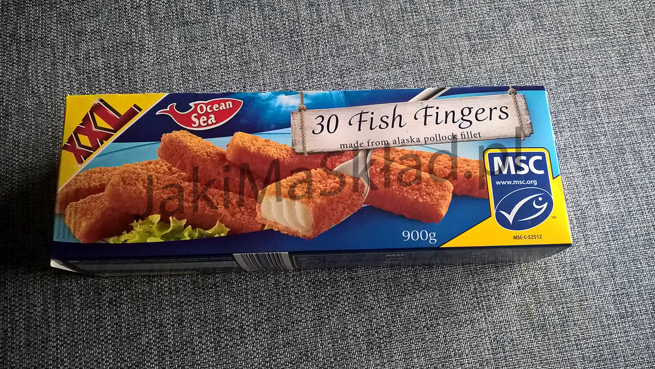 Ocean Sea Fish Fingers