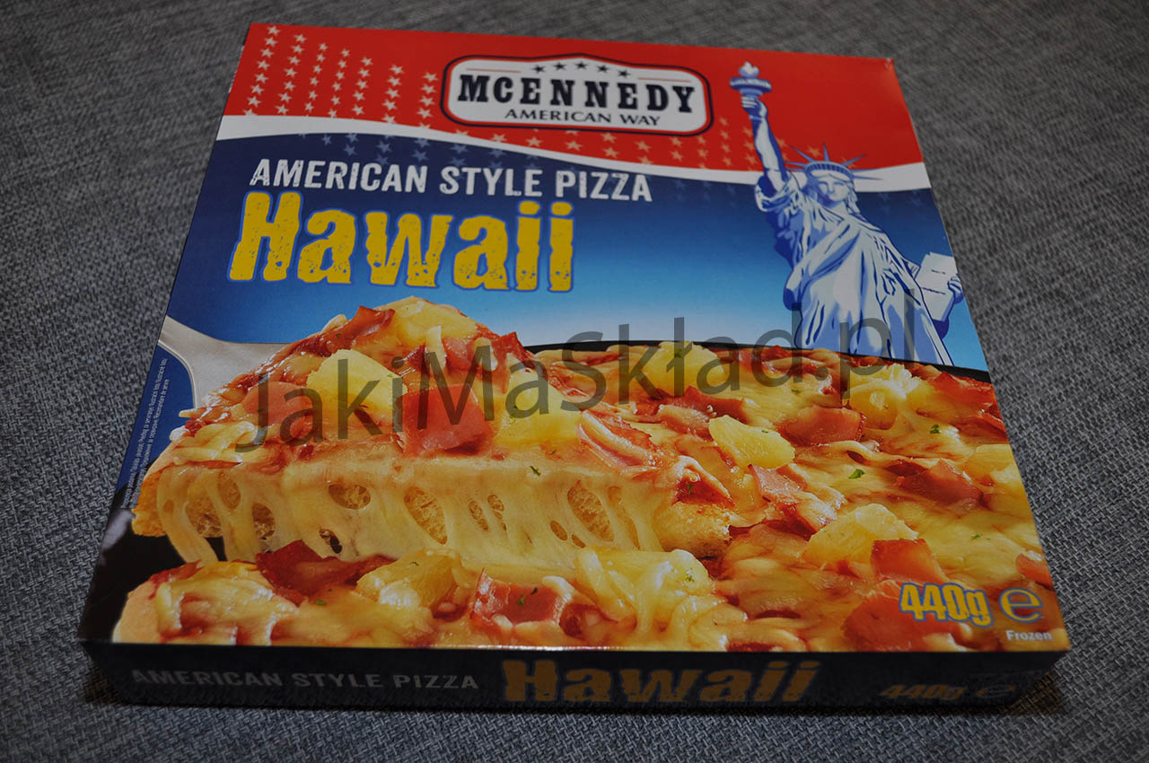 Pizza McEnnedy Hawaii